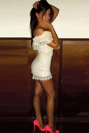 Escort beginner model Kristina is looking for sex acquaintances in Berlin